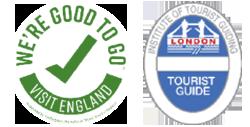 Visit England & Blue Badge Tourist Guide